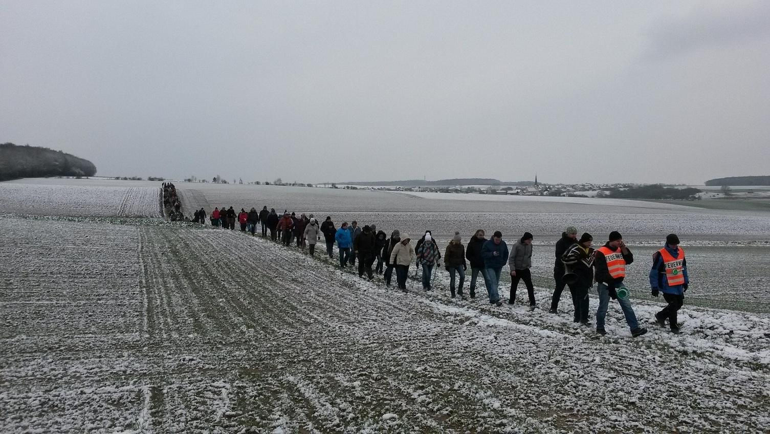 Bild DJK Burghausen – Winterwanderung DV Kreisverband Schweinfurt