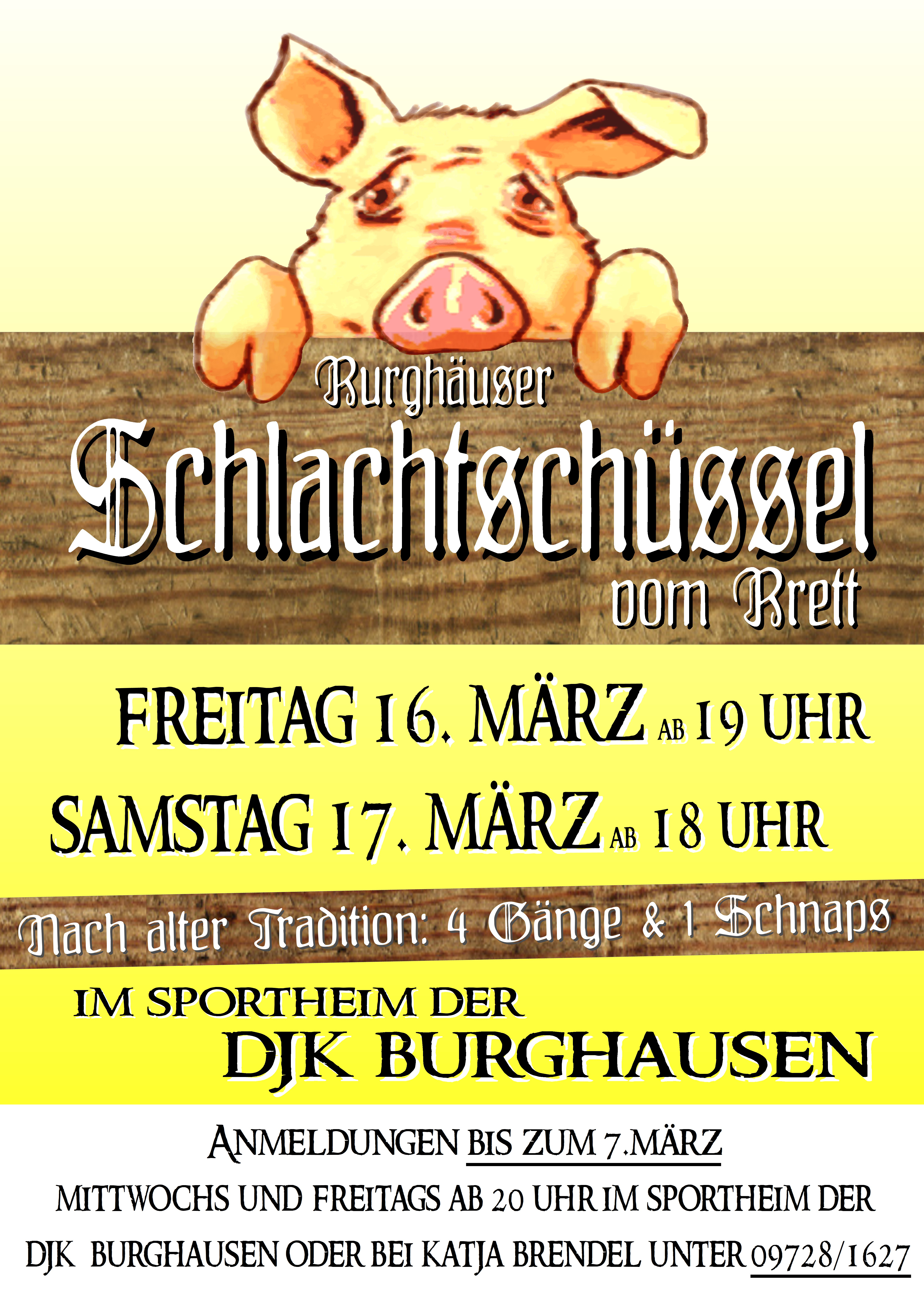 Burghaeuser Schlachtschüssel 2018 – Burghaeuser.de